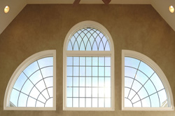 Geometric- trapazoid Windows