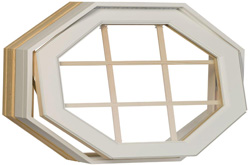hexagon octagon window